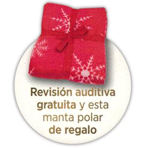 WIDEX AUDIFONOS REGALO MANTA POLAR