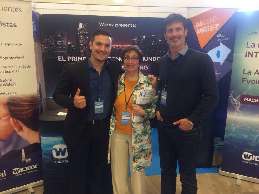 Centro auditivo Audimos en el Congreso de Audiología 2018