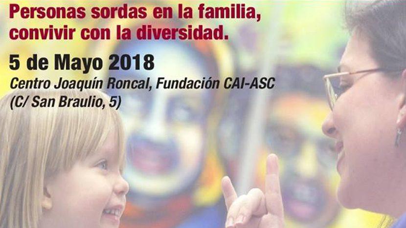 Jornada de educación y familias Familias con sordos