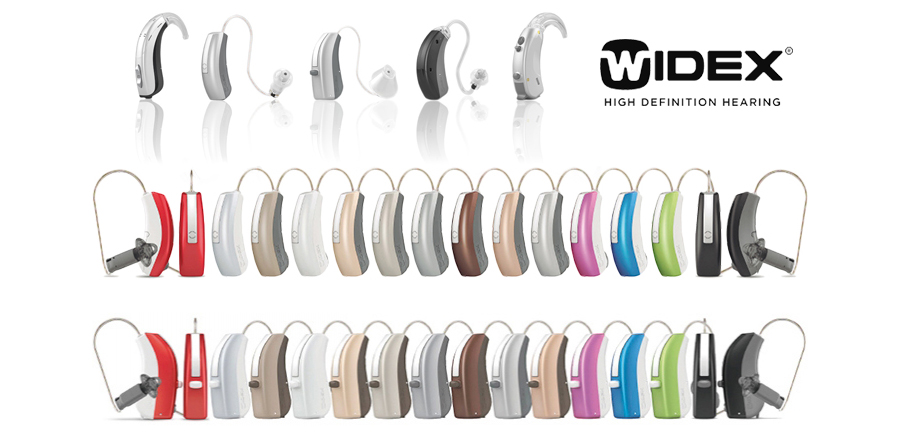 AMPLIA GAMA DE AUDIFONOS WIDEX