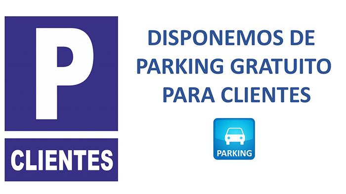 Centro Auditivo Audimos servicio de parking para clientes